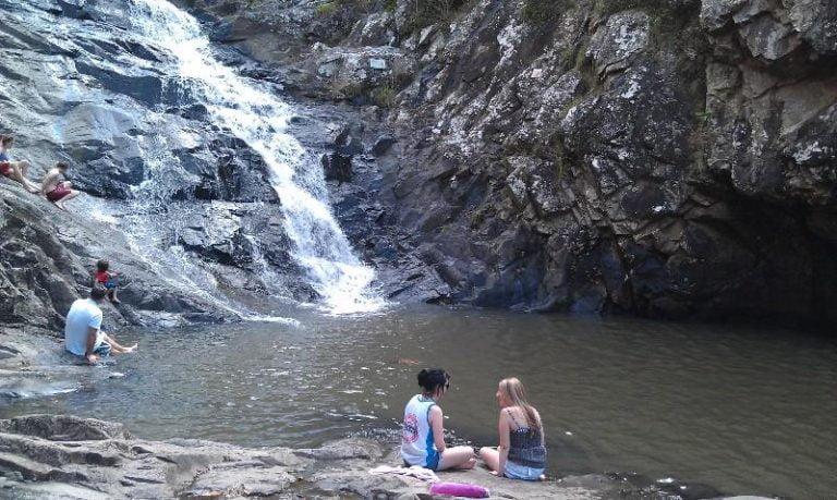 cedar creek falls north tamborine queensland 768x459
