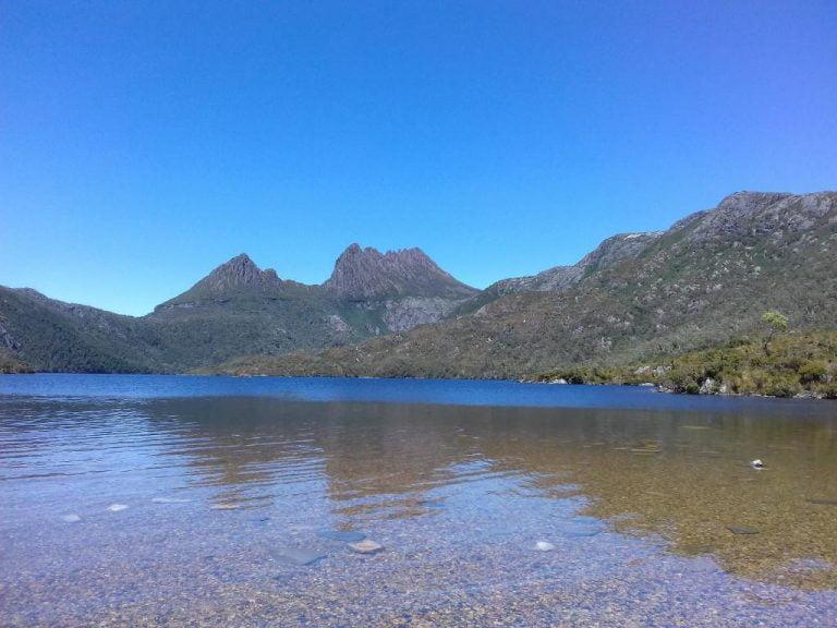 dove lake cradle mountain lake st clair national park tasmania 768x576