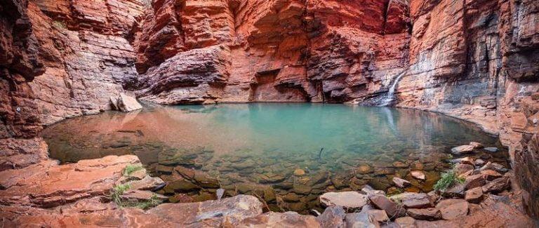 handrail pool karijini national park western australia 768x325