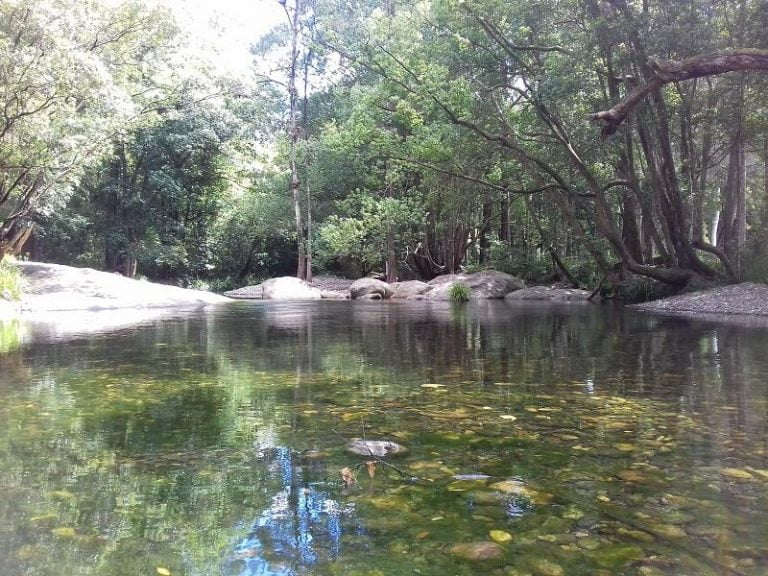 never never creek old bridge swimming hole promised land new south wales 768x576
