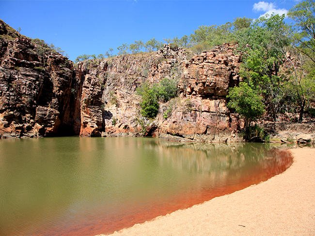 butterfly gorge nature park northern territory