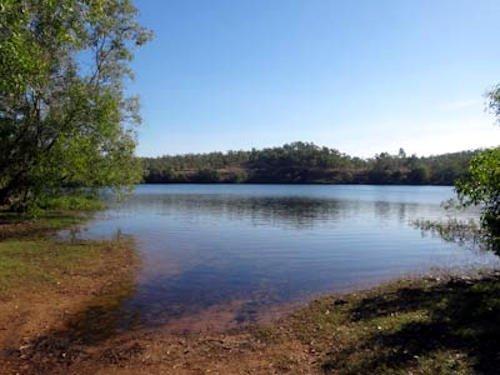 rum jungle lake batchelor northern terriory